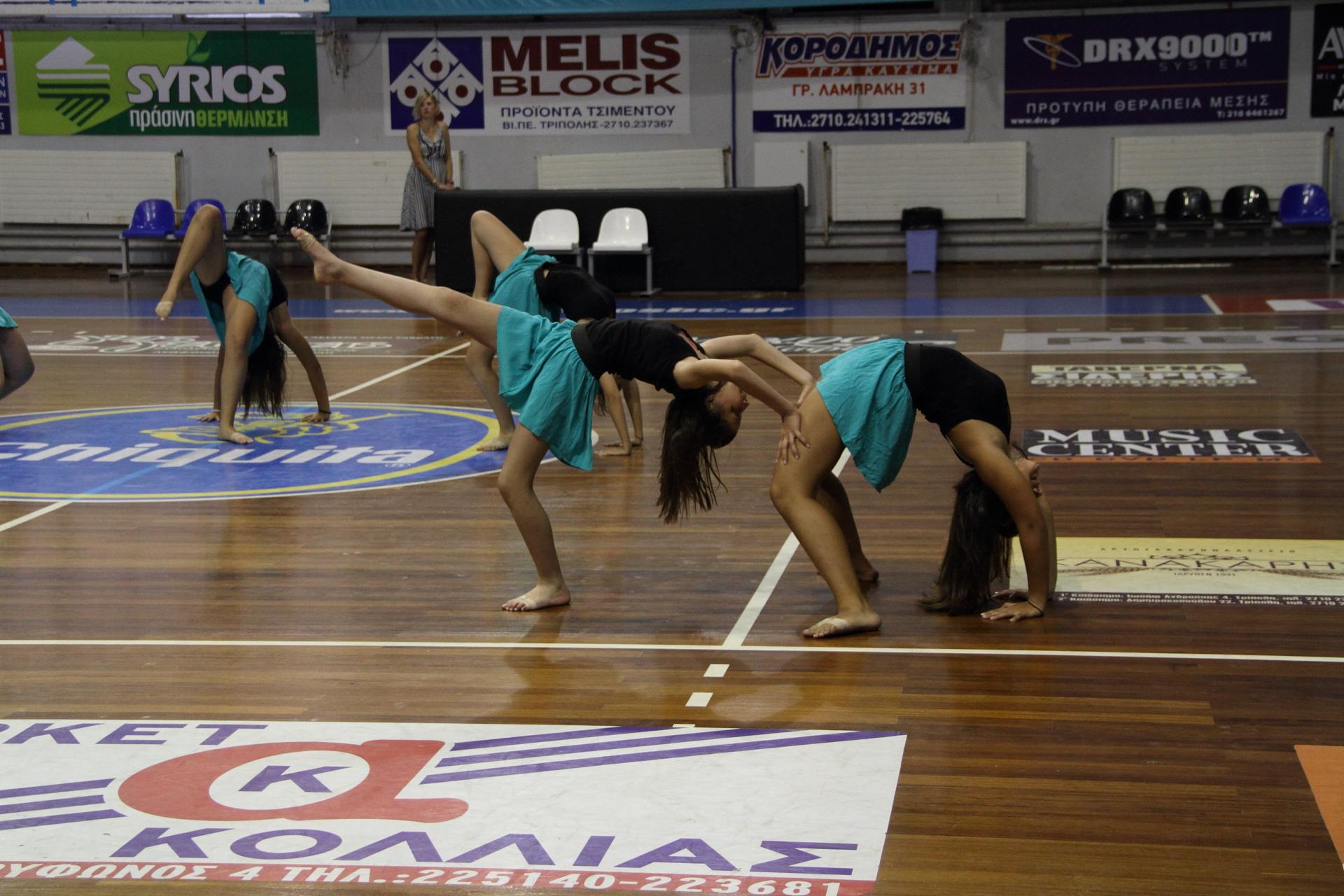 "3o Τμήμα Modern Dance "" 4η Παράσταση Γυμναστηρίου Top Gym"""