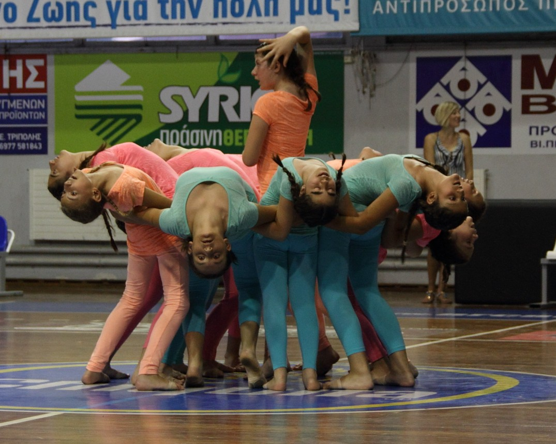 2o Τμήμα Modern Dance 4η Παράσταση Γυμναστηρίου »Top Gym»